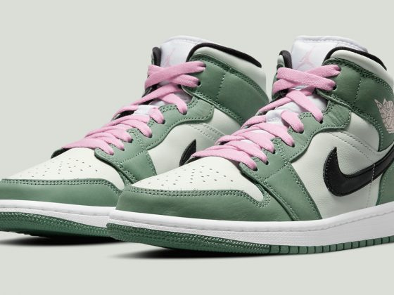 Air Jordan 1 Mid SE ''Dutch Green'' - CZ0774-300