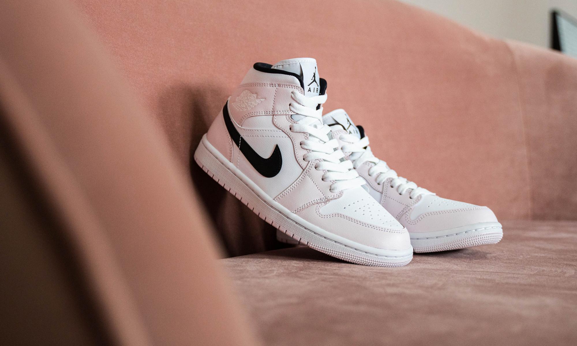 Air Jordan 1 Mid WMNS ''Barely Rose'' - BQ6472-500 - Sneaker Style