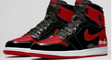 Air Jordan1 Retro High OG ''Bred Patent''