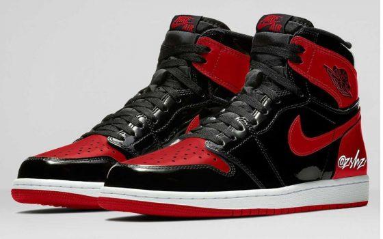 Air Jordan 1 Retro High OG ''Bred Patent'' - 555088-063