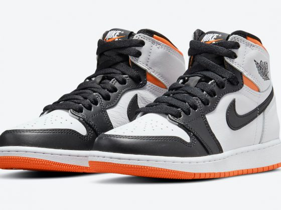 Air Jordan 1 Retro High OG ''Electro Orange'' - 555088-180