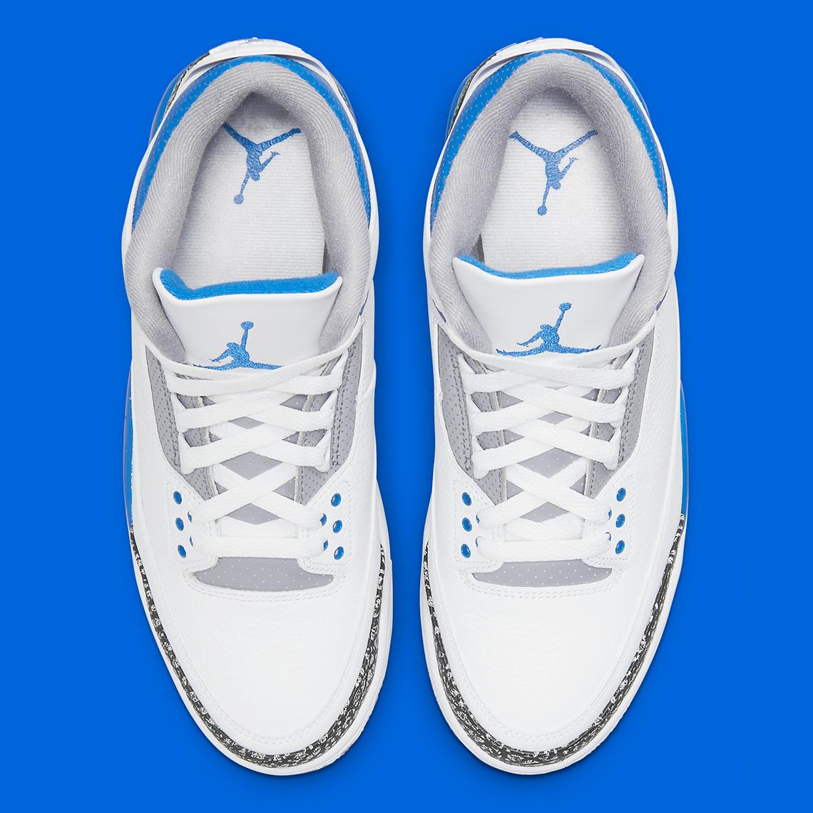 Air Jordan 3 ''Racer Blue'' - CT8532-145