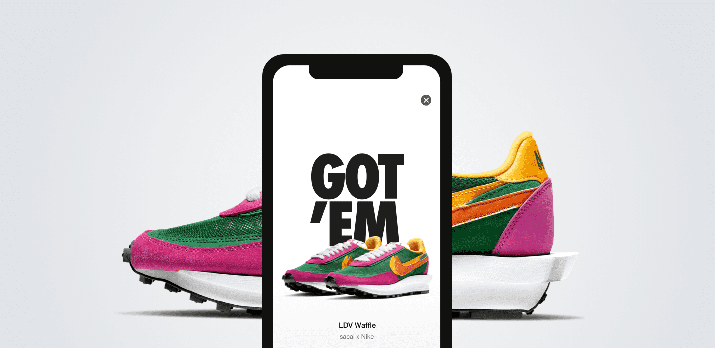 Application Nike SNKRS