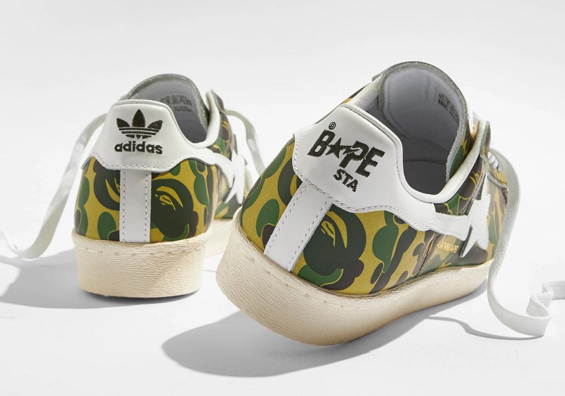 BAPE x adidas Superstar ''Green Camo'' - GZ8981