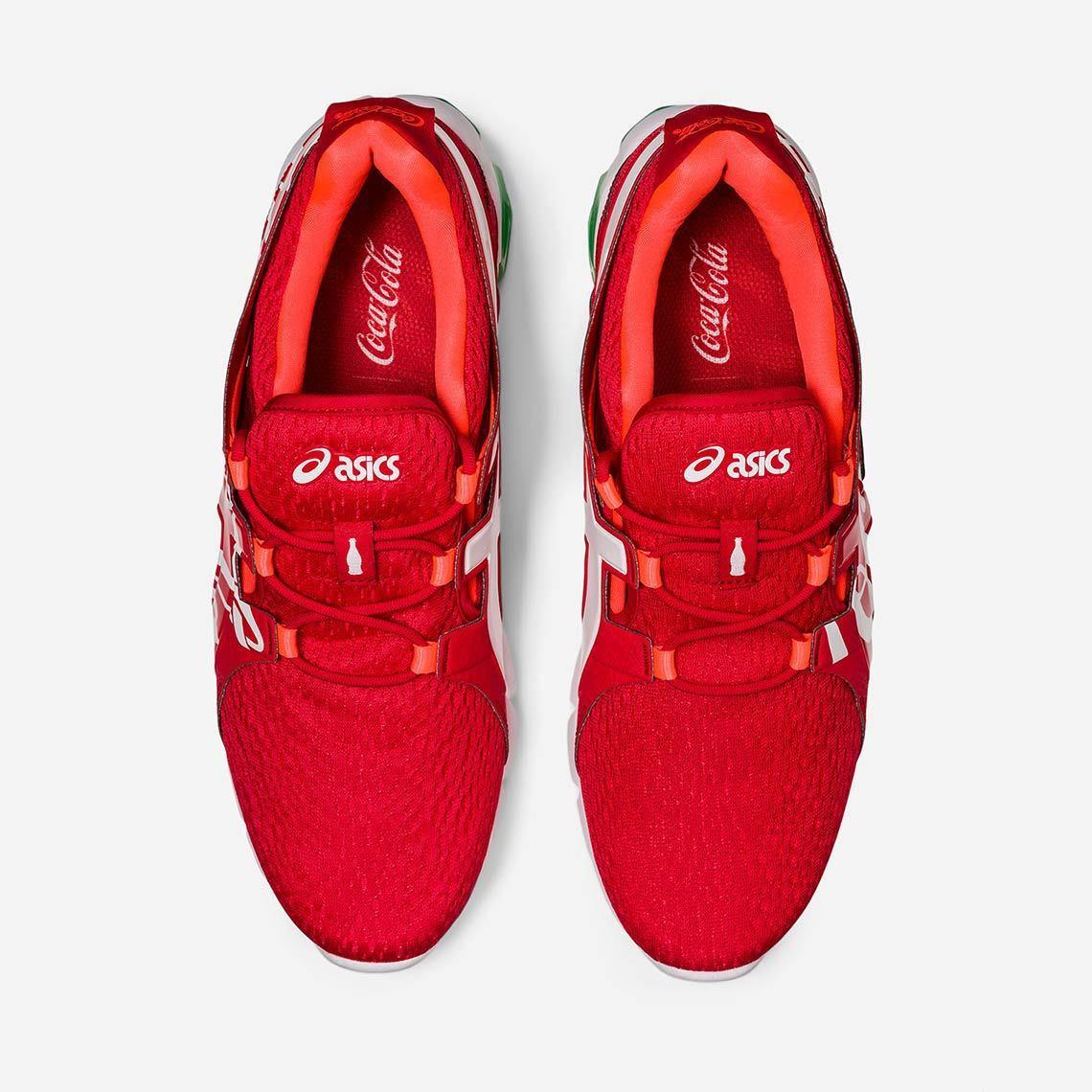 Coca-Cola x ASICS GEL-QUANTUM 90 ''Red'' - 1023A062-600