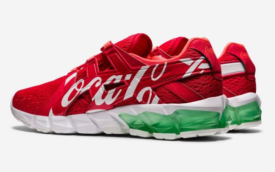 Coca-Cola x ASICS GEL-QUANTUM 90 ''Red'' - 1023A062-600