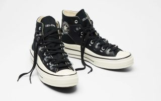 Kim Jones x Converse Chuck 70 Utility Wave High ''Black'' - 171257C