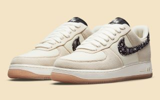 "Nike Air Force 1 Low ""Paisley Swoosh"" - DJ4631-200"