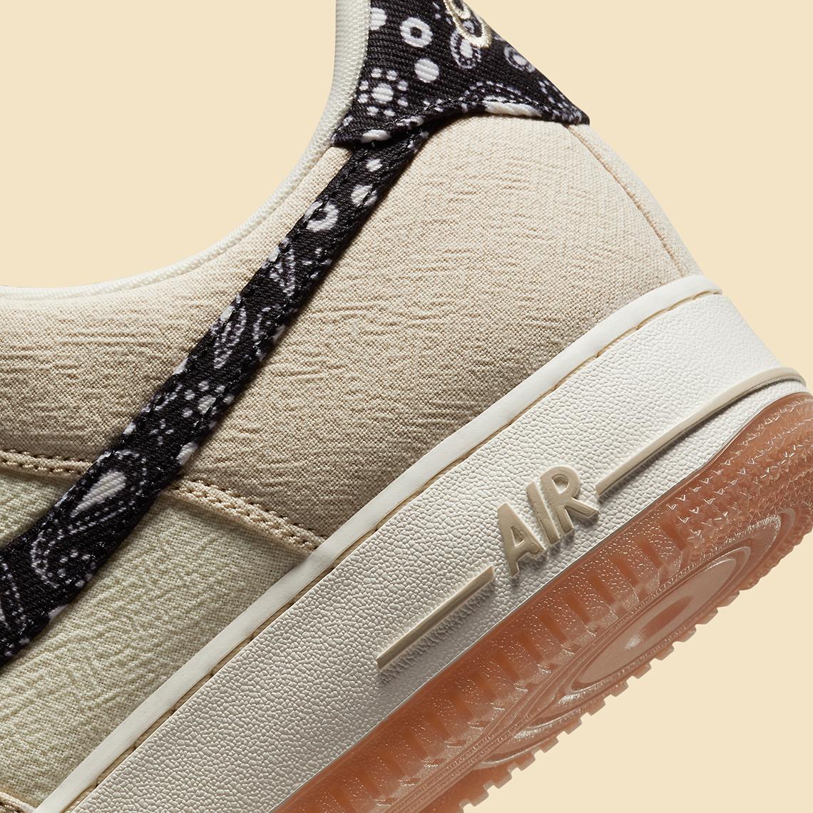 """Nike Air Force 1 Low """"Paisley Swoosh"""" - DJ4631-200"""