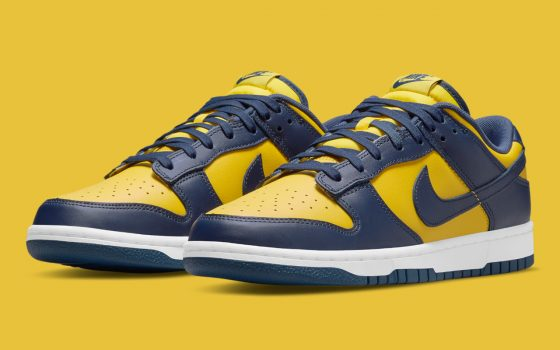 Nike Dunk Low ''Michigan'' - DD1391-700