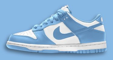 NikeDunk Low ''University Blue''/''UNC''