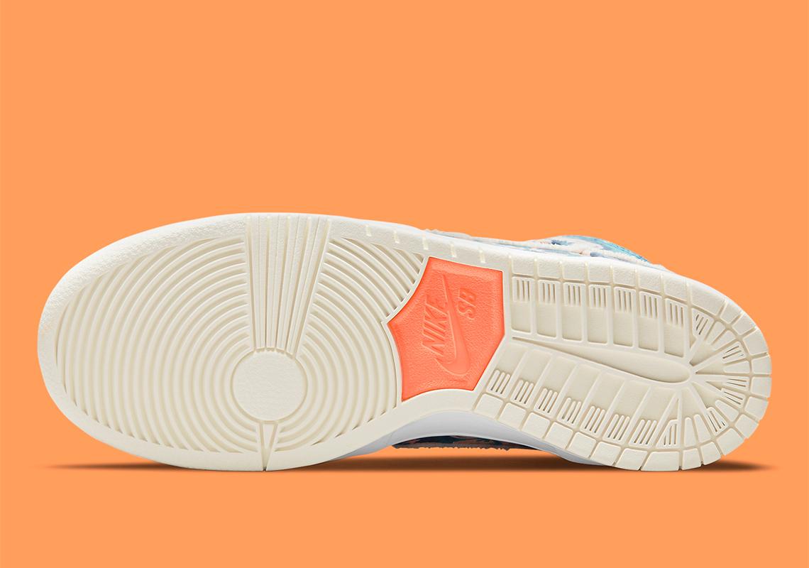 Nike SB Dunk High ''Hawaii'' - CZ2232-300