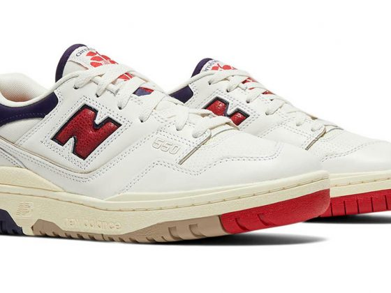 Aimé Leon Dore x New Balance 550 ''White/Navy/Red'' - BB550A3