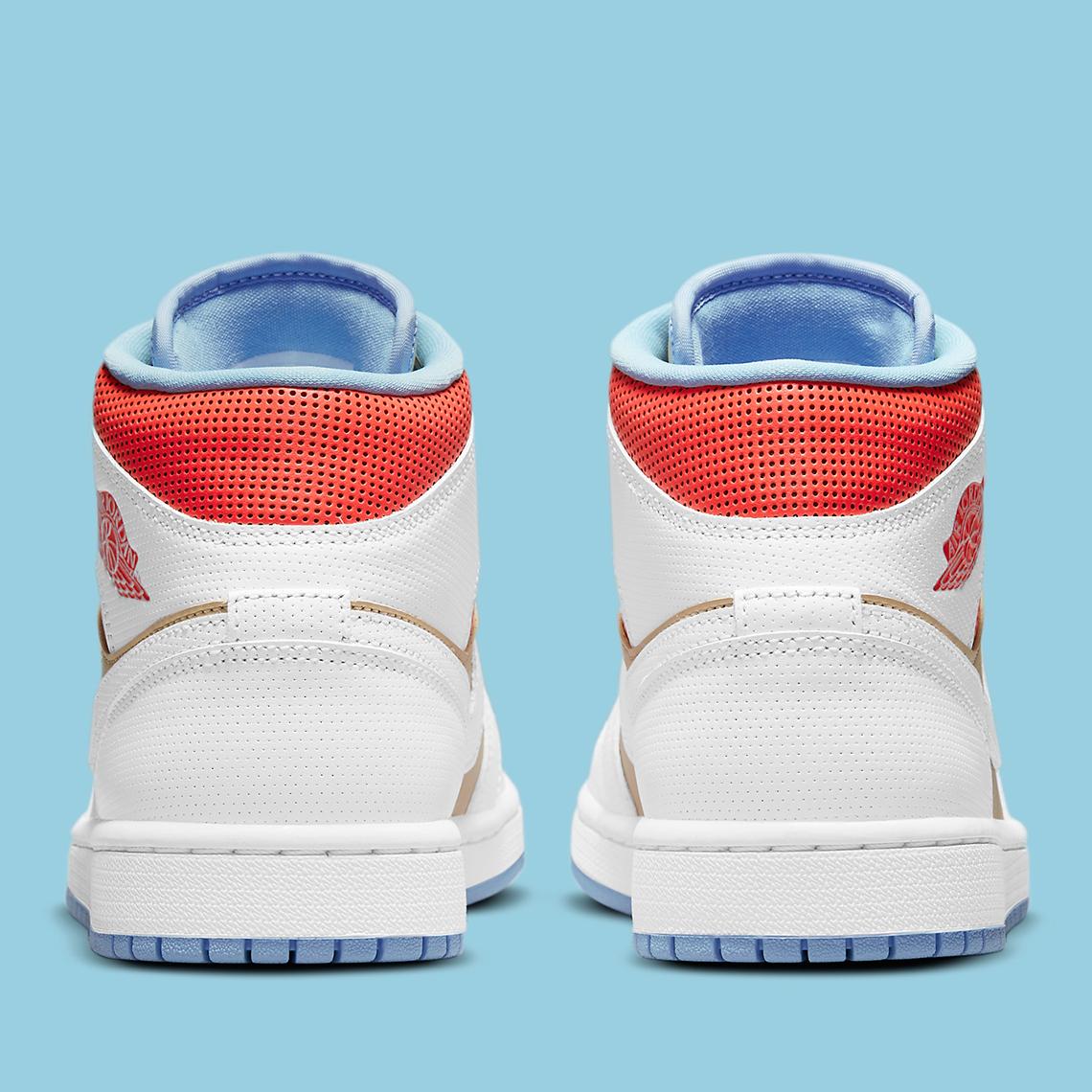 Air Jordan 1 Mid ''Sesame'' - CZ0774-200