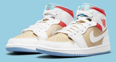 Air Jordan1 Mid ''Sesame''