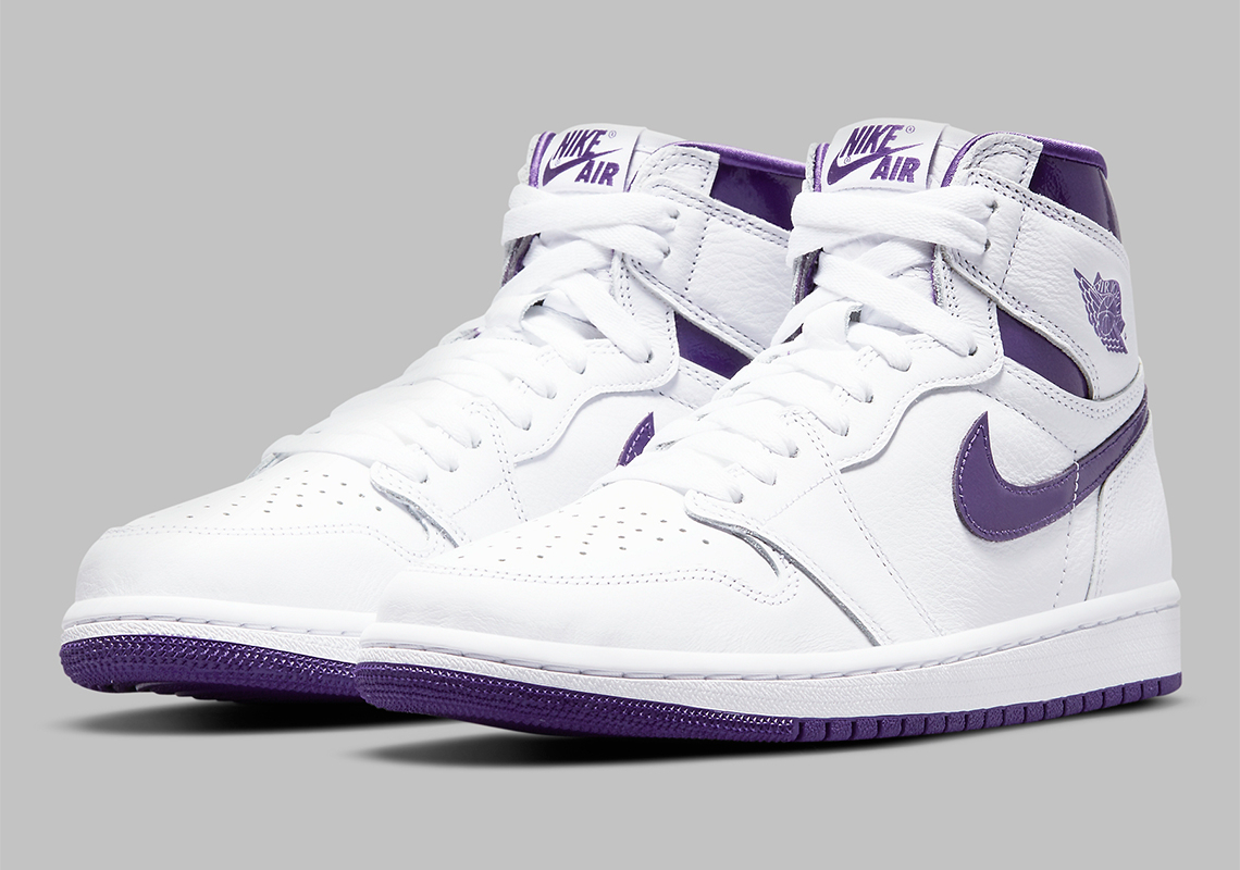Air Jordan 1 Retro High OG WMNS ''Court Purple'' - CD0461-151 ...