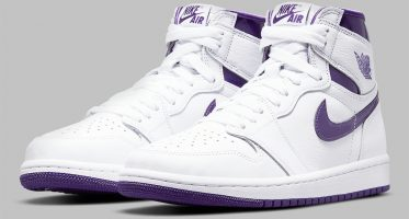 Air Jordan1 Retro High OG WMNS ''Court Purple''