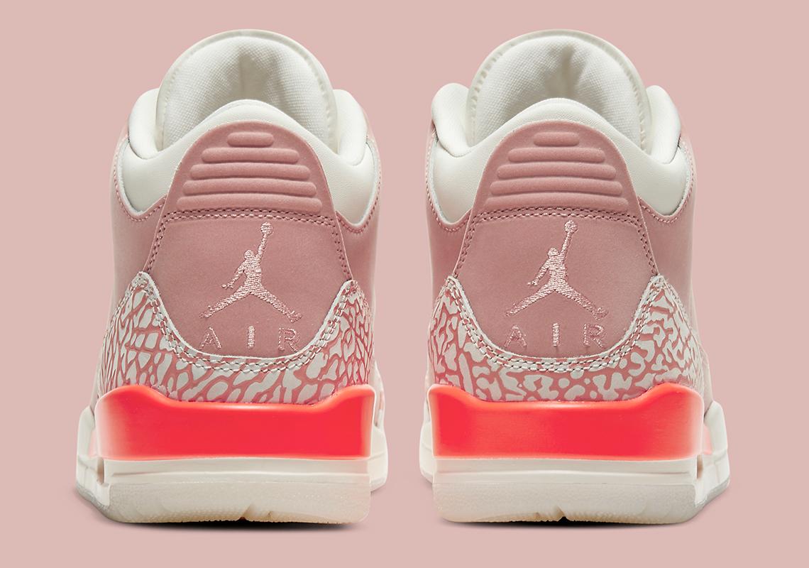 Air Jordan 3 WMNS ''Rust Pink'' - CK9246-600