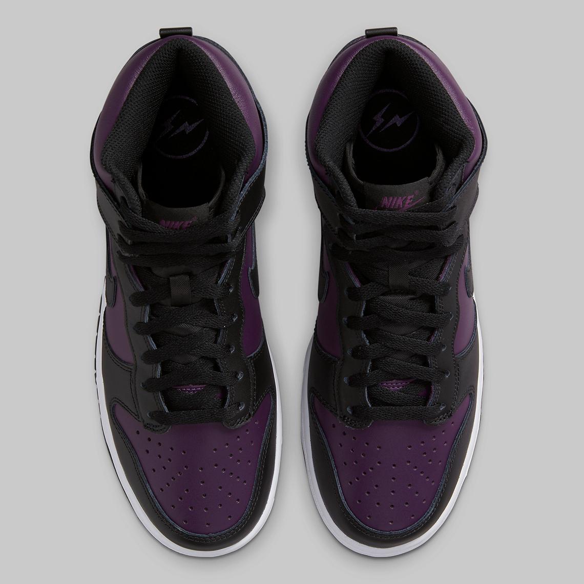 Fragment Design x Nike Dunk High ''Beijing'' - DJ0382-600