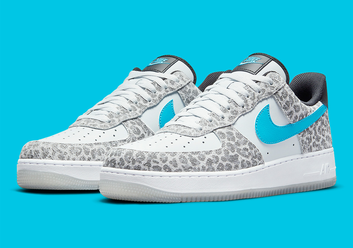 Nike Air Force 1 Low ''Snow Leopard'' - DJ6192-001 - Sneaker Style