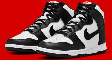 NikeDunk High ''Black & White''