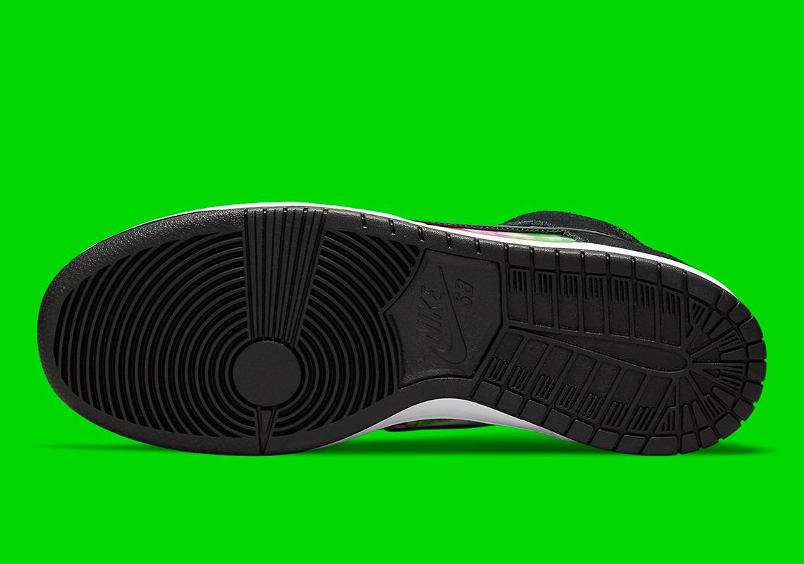 Nike SB Dunk High ''TV Signal'' - CZ2253-100