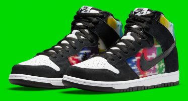 NikeSB Dunk High ''TV Signal''