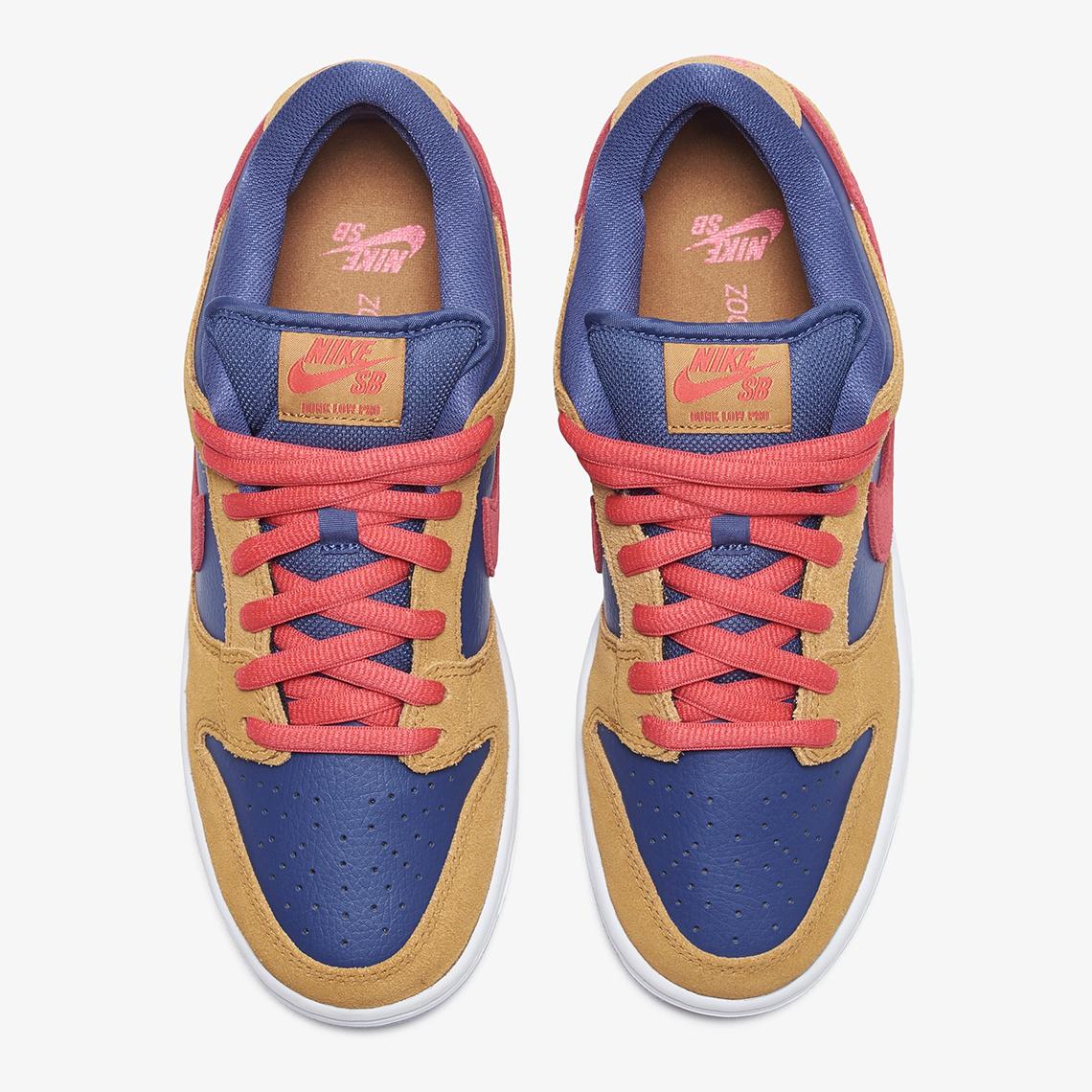Nike SB Dunk Low Pro ''Reverse Papa Bear'' - BQ6817-700