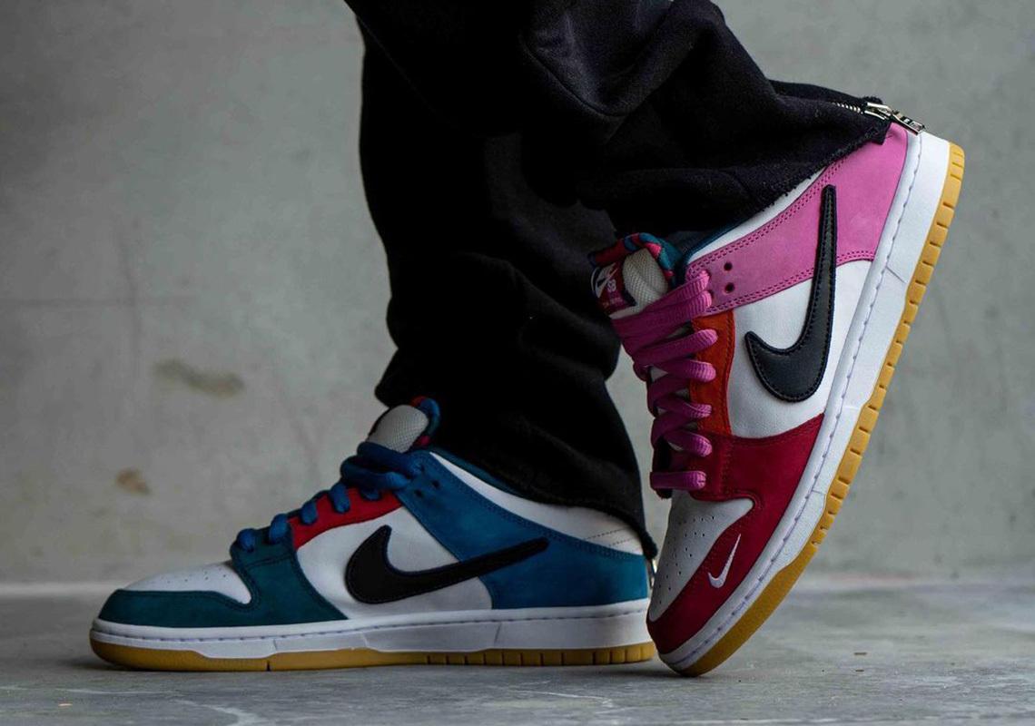 Parra x Nike SB Dunk Low ''Multi'' - 2021 - DH7695-100