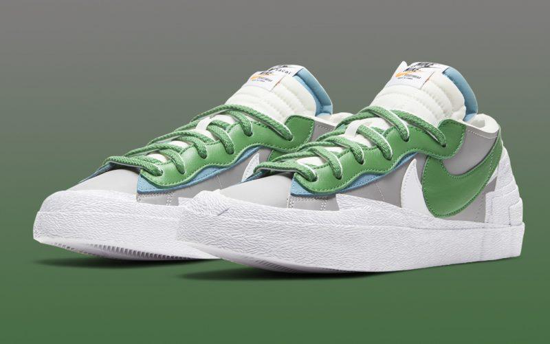 Sacai x Nike Blazer Low ''Classic Green'' - DD1877-001