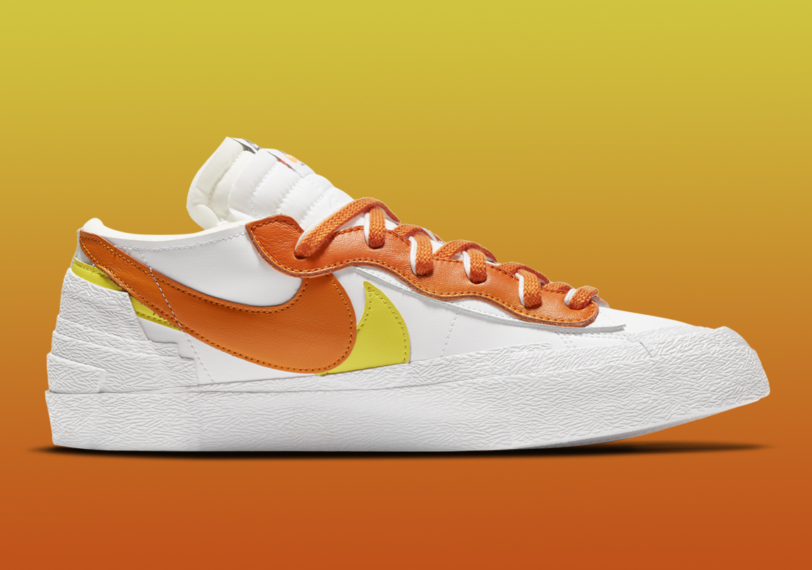 Sacai x Nike Blazer Low ''Magma Orange'' - DD1877-100