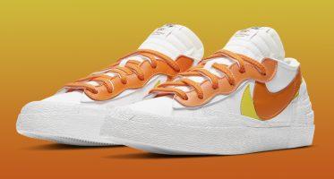SacaiNike Blazer Low ''Magma Orange''