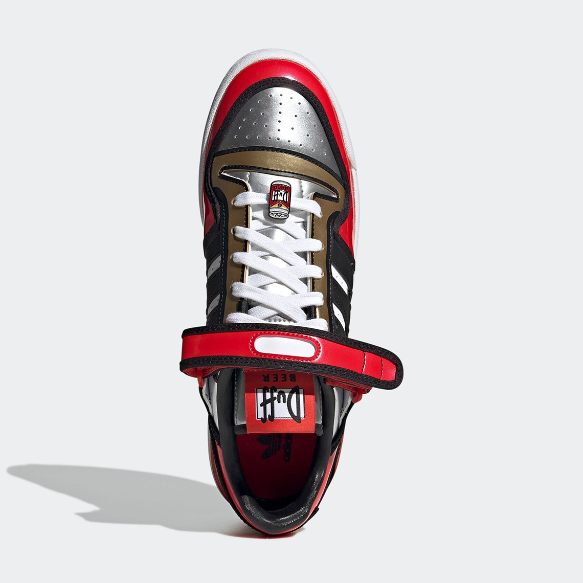 The Simpsons x adidas Forum Low ''Duff Beer'' - H05801