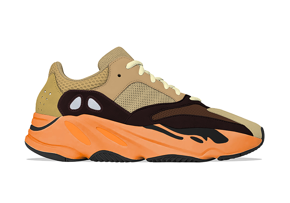 adidas Yeezy Boost 700 ''Enflame Amber'' - GZ0297