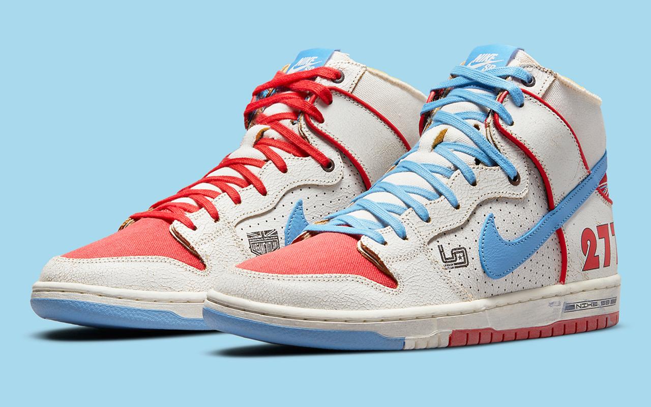 Ishod Wair x Magnus Walker x Nike SB Dunk High Pro - DH7683-100 - Sneaker  Style