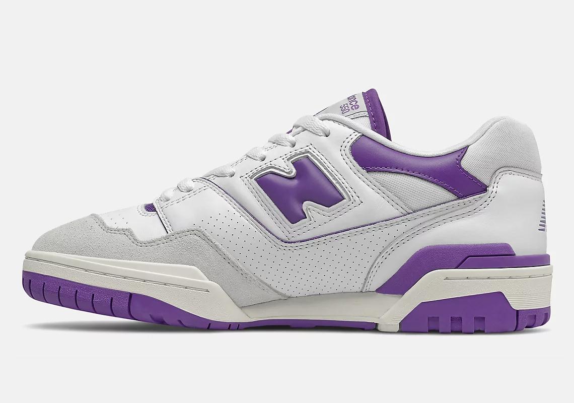 New Balance 550 ''White/Purple'' - BB550WR1