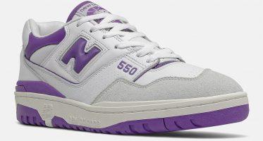New Balance550 ''White/Purple''