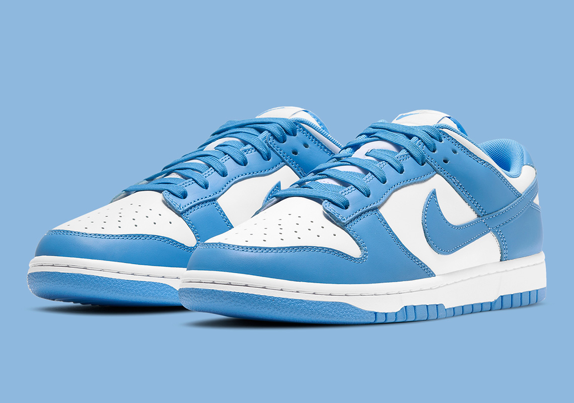 Nike Dunk Low ''University Blue''/''UNC'' - DD1391-102