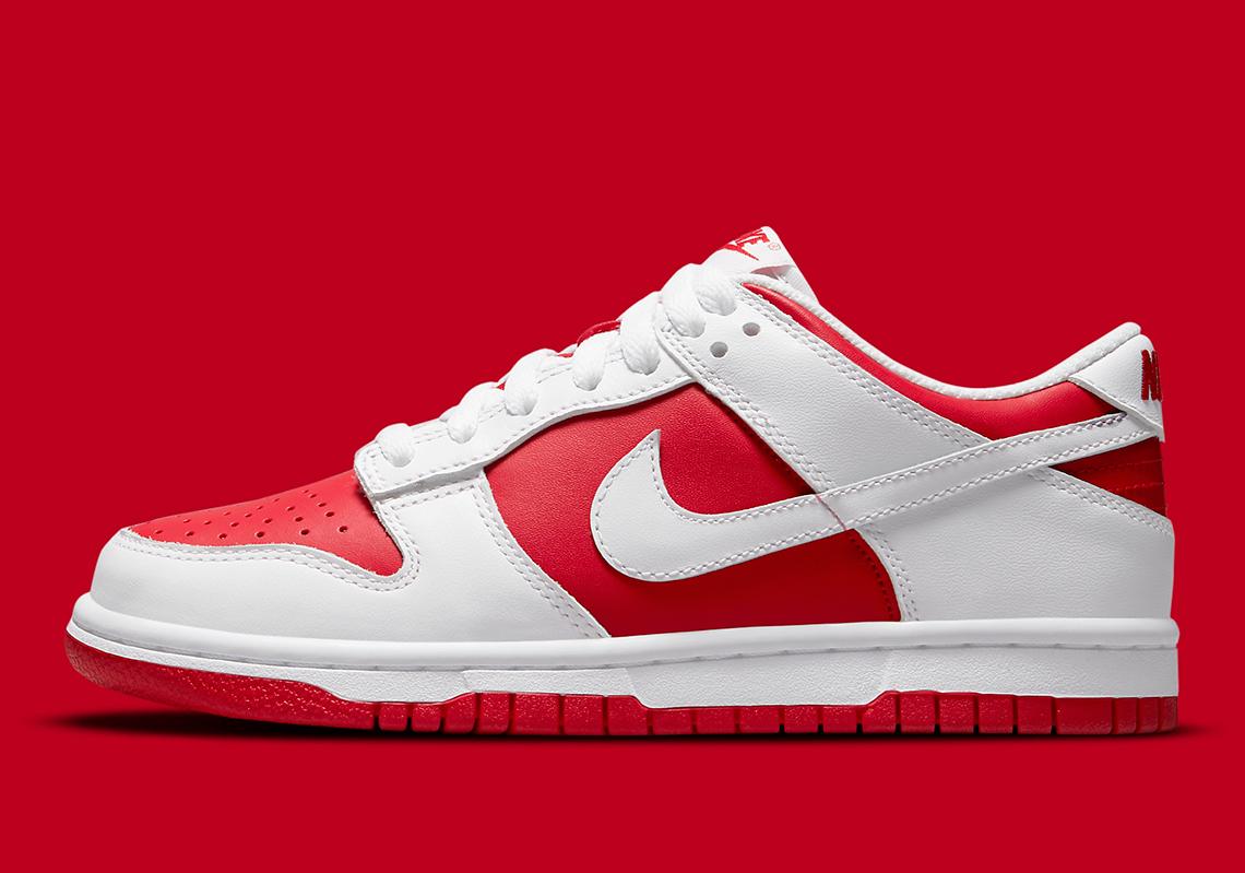 Nike Dunk Low ''University Red'' - DD1391-600