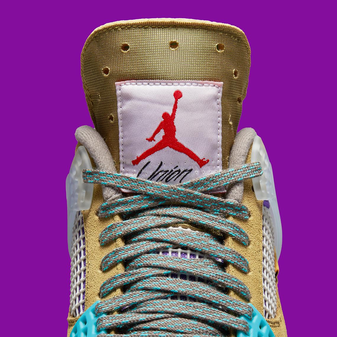 Union LA x Air Jordan 4 ''Desert Moss'' - DJ5718-300