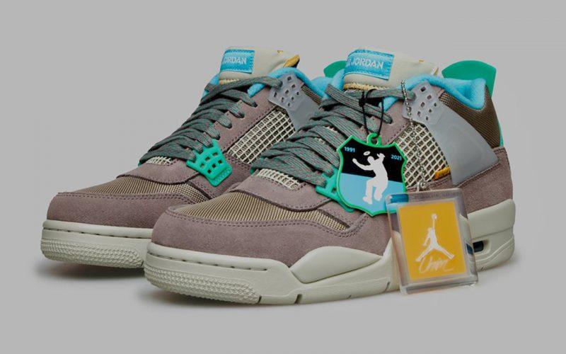 Union La x Air Jordan 4 ''Taupe Haze'' - DJ5718-242