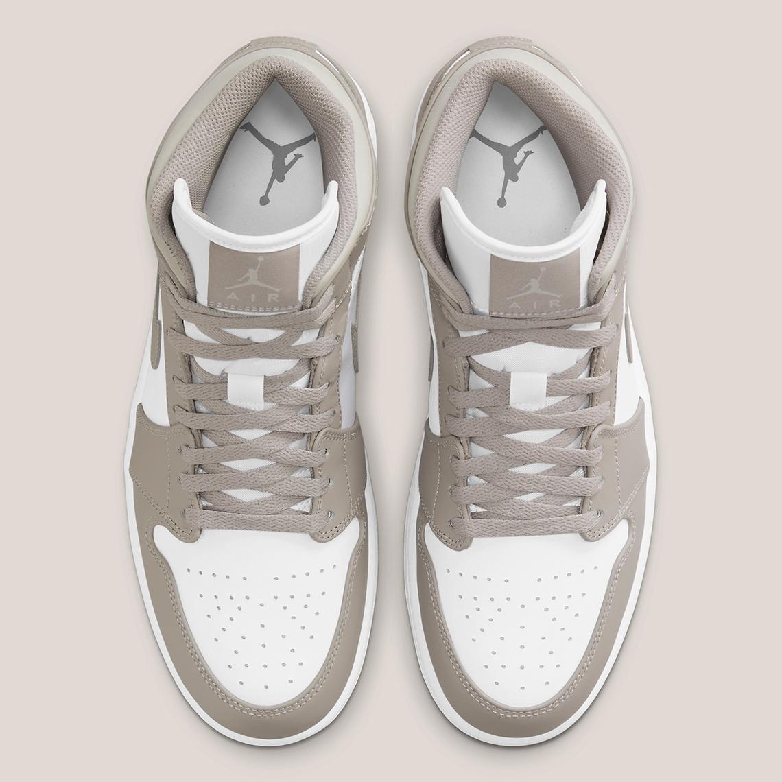 Air Jordan 1 Mid ''Linen'' - 554724-082