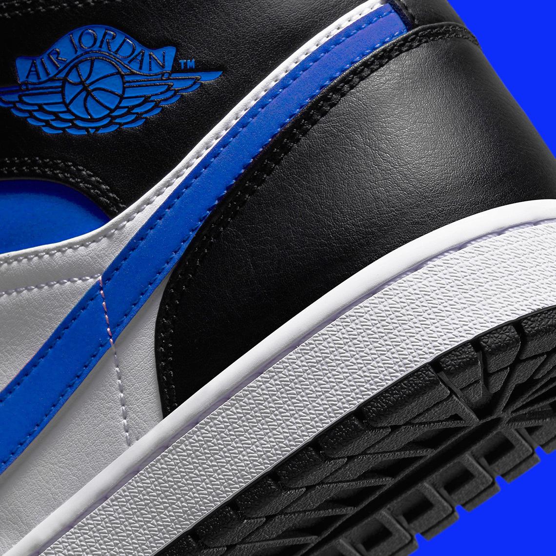 Air Jordan 1 Mid ''Racer Blue'' - 554724-140