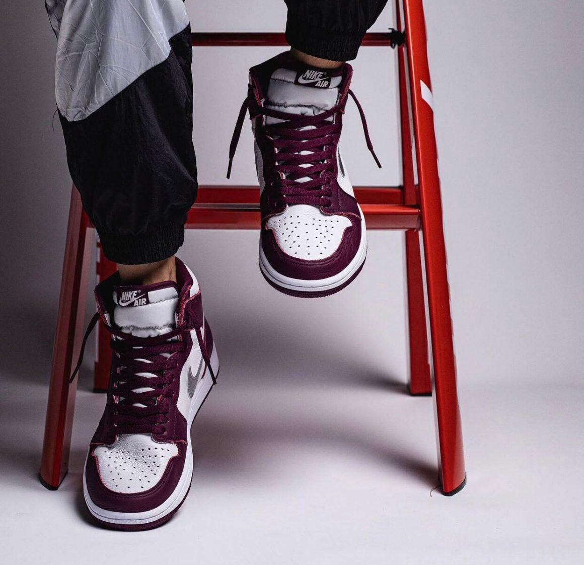 Air Jordan 1 Retro High OG ''Bordeaux'' - 555088-611