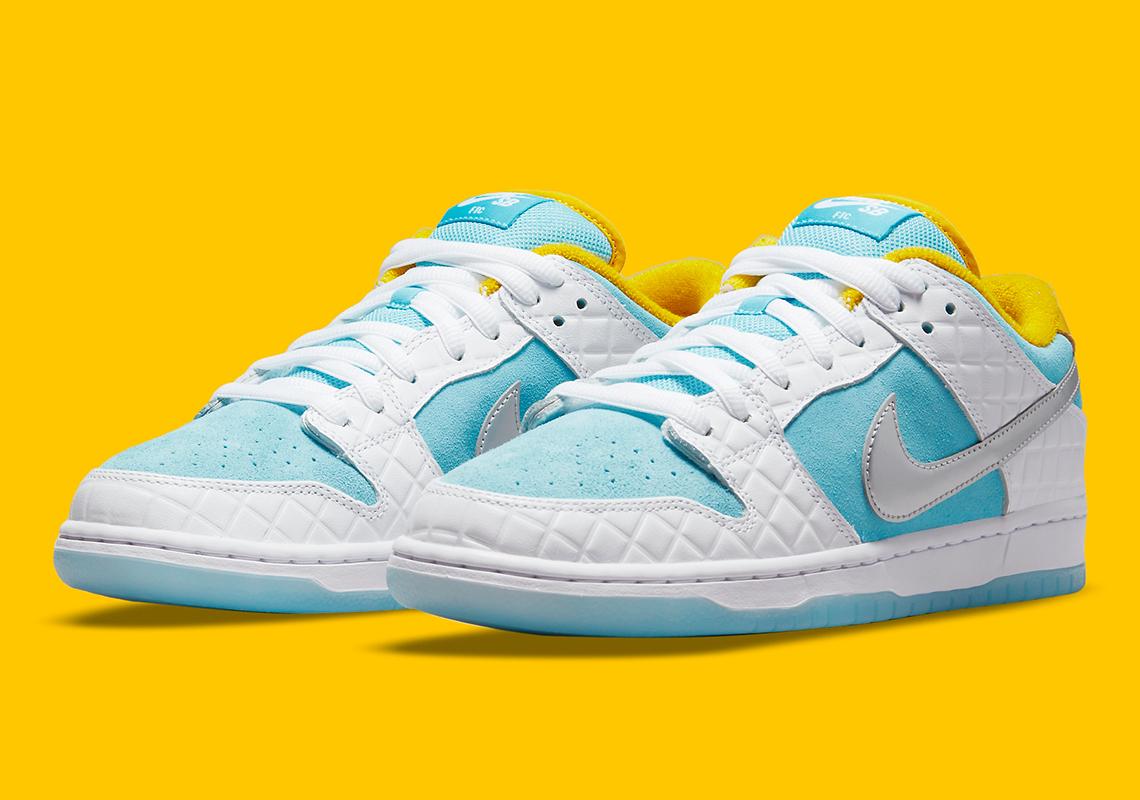 FTC x Nike SB Dunk Low Pro ''Lagoon Pulse'' - DH7687-400