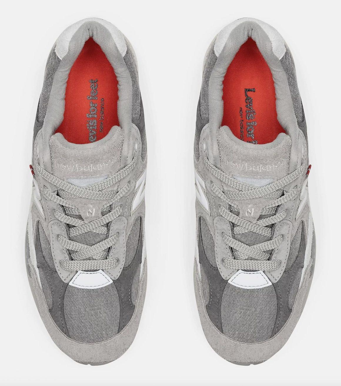 Levi's x New Balance 992 ''Grey Denim'' - M992LV