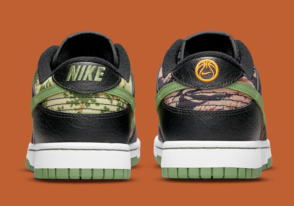 Nike Dunk Low SE ''Crazy Camo'' - DH0957-001
