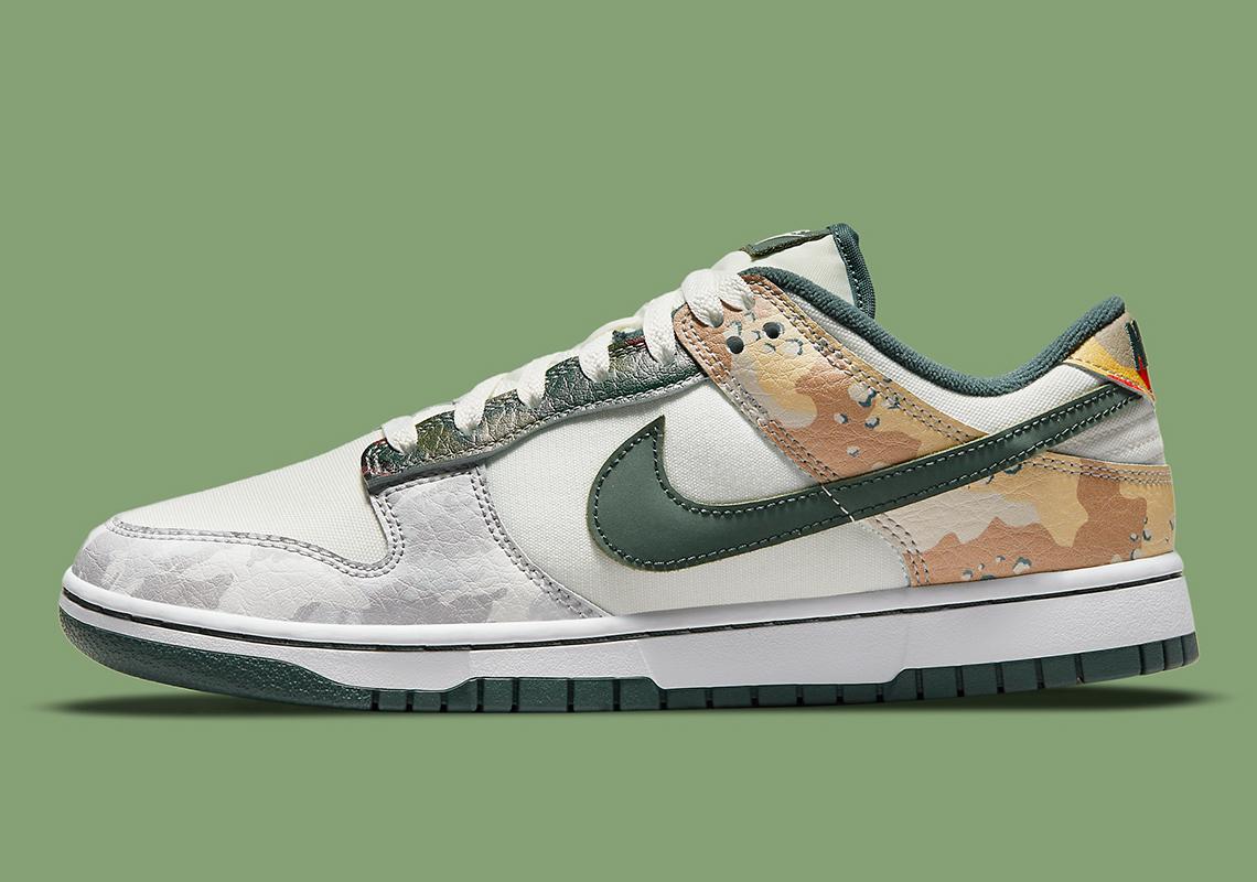Nike Dunk Low SE ''Multi Camo'' - DJ6124-001