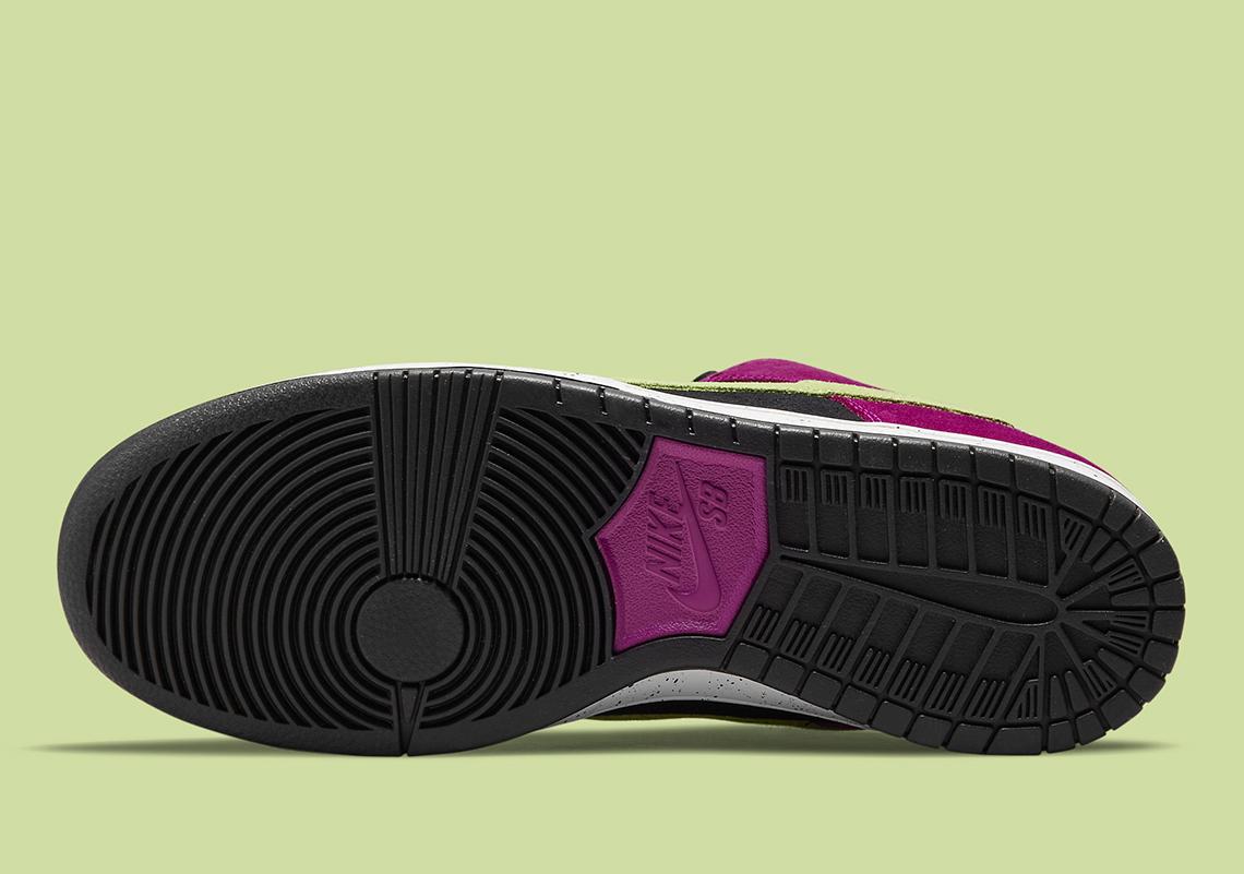 Nike SB Dunk Low Pro ''Red Plum'' - BQ6817-501