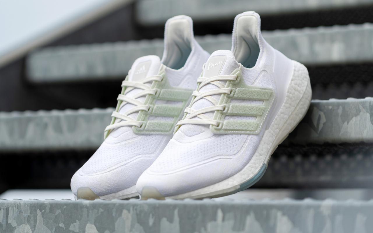 PARLEY x adidas Ultraboost 21 - White/Light Green